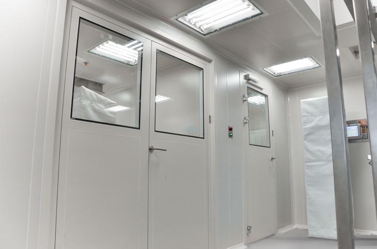 Kleanlabs kétszárnyú ajtó